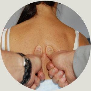 Dorn Test Brustwirbelsäule